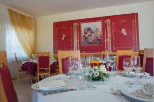 sala degli affreschi hotel campania