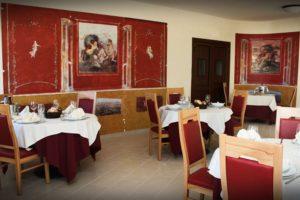 Vesuvian Inn Hotel sala degli affreschi