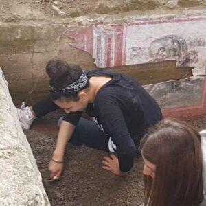 Cantiere scavo archeologico simulato Stabiae