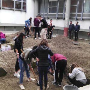 Laboratorio scavo archeologico simulato Vesuvian Inn Hotel